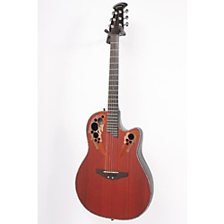 Ovation Celebrity Deluxe Super Shallow Padauk Acoustic-Electric Guitar (USED005020 CC48-PD)