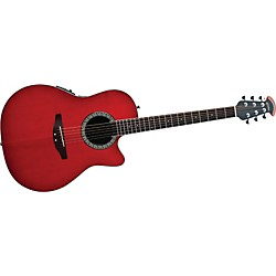 Ovation Celebrity Mid-Depth Solid Top Acoustic-Electric Guitar (CA24S-HB_132757)