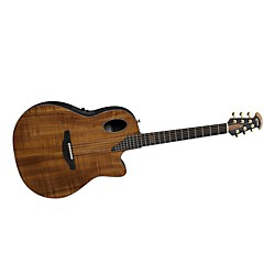 Ovation Limited Edition AAAAA Koa Elite Deep Contour Cutaway Acoustic-Electric Guitar (2098-FKOA4)
