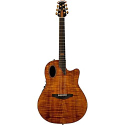 Ovation Limited Edition AAAAA Koa Elite Deep Cutaway Acoustic-Electric Guitar (1798-FKOA4)