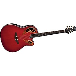 Ovation iDea Celebrity Acoustic-Electric Guitar with Built-In MP3 Recorder (CC44SI-CCB)