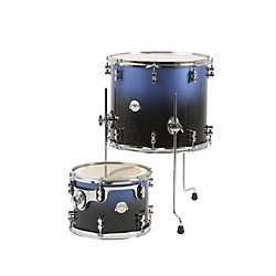 PDP Platinum Lacquer 2-Piece Tom Drum Pack (PDLCTMPK02BF)