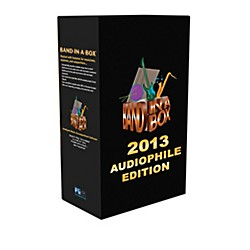 PG Music Band-in-a-Box 2013 Audiophile Edition (Win-Portable Hard Drive) (BBE30780)