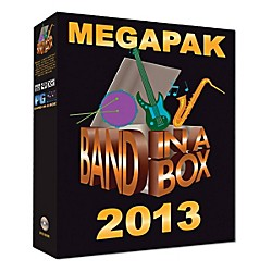 PG Music Band-in-a-Box 2013 MEGAPAK (Windows DVD-ROM) (BBE30645)