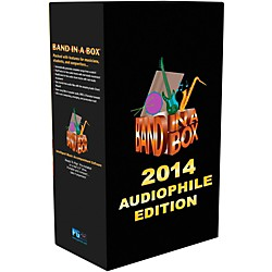 PG Music Band-in-a-Box 2014 Audiophile Edition (Win-Portable Hard Drive) (BBE40780)