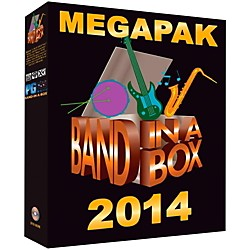 PG Music Band-in-a-Box 2014 MEGAPAK (Windows DVD-ROM) (BBE40645)