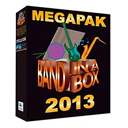 PG Music Band-in-a-Box Pro 2013 MAC MegaPAK (Mac-DVD) (BBE30708)