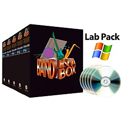 PG Music Band-in-a-Box Pro PC 5-User Lab Pack (for Academic Sale Only) (BBLPWIN)