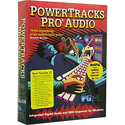 PG Music PowerTracks Pro Audio 12 MultiPAK 2009 for Windows (PG-PTMP)