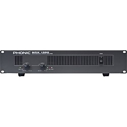PHONIC MAX 1000 Power Amplifier (MAX 1000 USED)