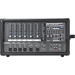 PHONIC POWERPOD 620 PLUS 200-Watt 6-Channel Powered Mixer with DFX (POWERPOD620PLUS USED)