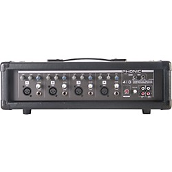 PHONIC Powerpod 410 Powered Mixer with Mic and Speaker Cables (USED004000 POWERPOD410)