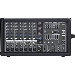 PHONIC Powerpod 740 Plus 2X220W 7-Channel Powered Mixer with Digital Effects (USED004000 POWERPOD 740 P)