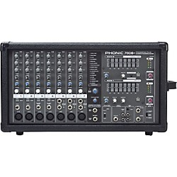 PHONIC Powerpod 780 Plus 2X300W 7-Channel Powered Mixer with Digital Effects (USED004000 POWERPOD 780 P)