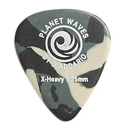 PLANET WAVES Camouflage Celluloid Guitar Picks (1CCF7-10)