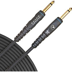 "PLANET WAVES Gold-Plated 1/4"" Straight Instrument Cable (PW-G-15)"