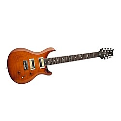 PRS SE 7-String Flame Maple Top Electric Guitar (USED004000 CM7VS-LB)