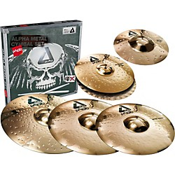 Paiste Alpha Complete Metal Cymbal Pack (A-CMETAL_CP)