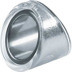 "Peaceland Guitar Ring 1"" Glass Guitar Ring Slide (GB3090KR)"