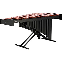Pearl Academy 3.3 Padouk Marimba with Resonators and X-Stand (AMPD33R)