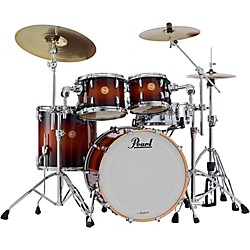 Pearl Limited Edition Masters Mahogany 4-Piece Shell Pack (MMH924XSP/C340 Kit)