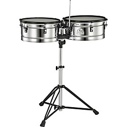 Pearl Primero Pro Steel Timbale Set (PTE1415DX)