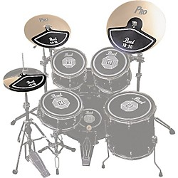 Pearl RP40C Rubber Cymbal Pad Set (RP40C)