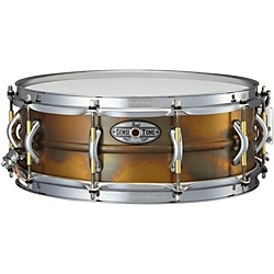 Pearl Sensitone Premium Beaded Patina Brass Snare Drum (STA1450FB)