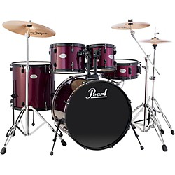 Pearl Soundcheck 5-Piece Drumset with Cymbals and Hardware (SCXB625P91-ZBT)