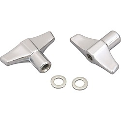 Pearl Wing Nut with Washer (2 Pack) (M6N/2)