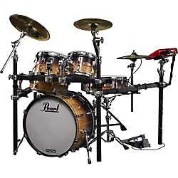Pearl e-Pro Live Electronic Drumset with e-Classic Cymbals (EPLX205P/B/464)