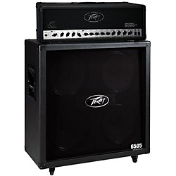 Peavey 6505+ 120W Guitar Head with 6505 4x12 300W Cabinet (6505+6505B)