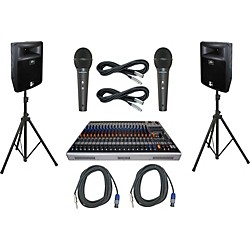 Peavey XR 1220P / PR 15 PA Package (XR1220PPR15)