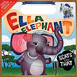 Penguin Books Baby Loves Jazz: Ella Elephant Scats Like That Book & CD (74-0843120851)