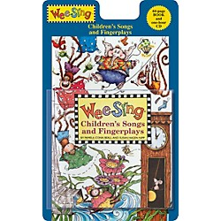 Penguin Books Wee Sing Children's Songs and Fingerplays Book & CD (74-0843113624)