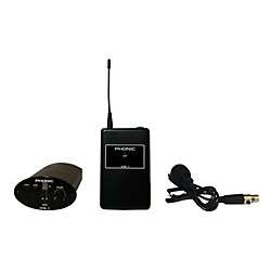 Phonic WL-1S Wireless Lavalier System (Receiver + Bodypack + Lavaliere) (USED004000 WL-1S)