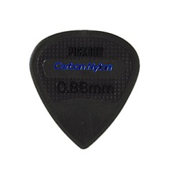 Pick Boy Edge, Sharp Tip, Carbon/Nylon Guitar Picks (10-pack) (PB200P088)