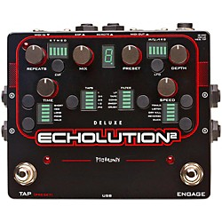 Pigtronix Echolution 2 Deluxe Guitar Effects Pedal (E2D)