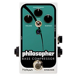 Pigtronix Philosopher Bass Compressor Effects Pedal (USED004000 PBC)