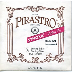 Pirastro Synoxa Violin Strings (1SVG34)