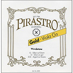 Pirastro Wondertone Gold Label Series Viola A String (GOL225121)