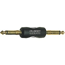 Planet Waves Adapter, 1/4 - 1/4 Straight (PW-P047A)