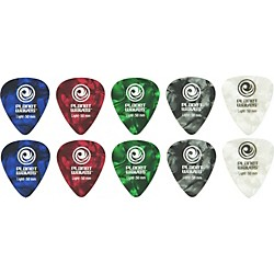 Planet Waves Standard Celluloid Pearl Picks Assorted 10-Pack (1CAP2-10)