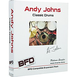 Platinum Samples Andy Johns Classic Drums for BFD (AJCD-BFD)