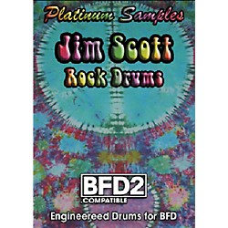 Platinum Samples Jim Scott Rock Drums BFD2 Compatible Volumes 1 and 2 (JSD_BFD_RockDrumsCombo)