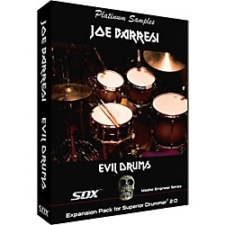 Platinum Samples Joe Barresi Evil Drums SDX for Superior Drummer 2.0 Sample Collection (EJB_SDX_EvilDrums)