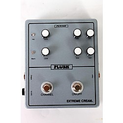 Plush Extreme Cream Overdrive Guitar Effects Pedal (USED005005 PLUSHEXTREMECR)
