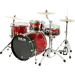 Pork Pie 4-Piece Candy Red/Black Satin Shell Pack (KIT-491935)