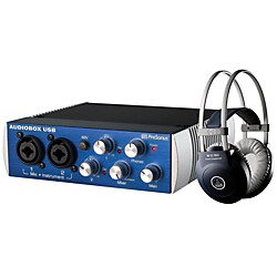 PreSonus AudioBox USB 2x2 AKG Package (AudioBox AKG Package)