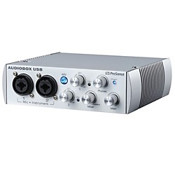 PreSonus AudioBox USB 2x2 Audio Recording Interface Limited Edition (USED004000 AUDIOBOX WT)